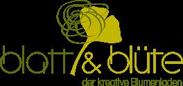 Blatt & Blüte Blumenladen - Logo
